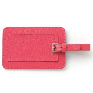 Lenox Coral Leather Luggage Tags (Set of 2)